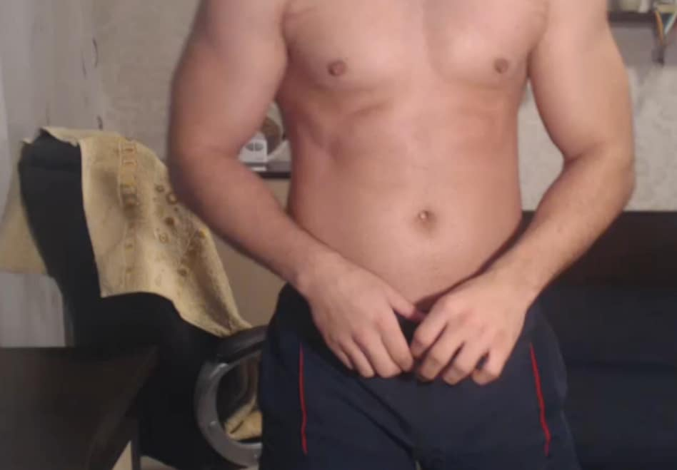 Muscle Gay Chatting With Cam