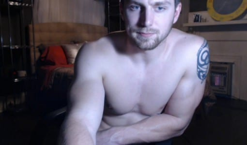 Straight Cam Guy Jerking Off And Cums