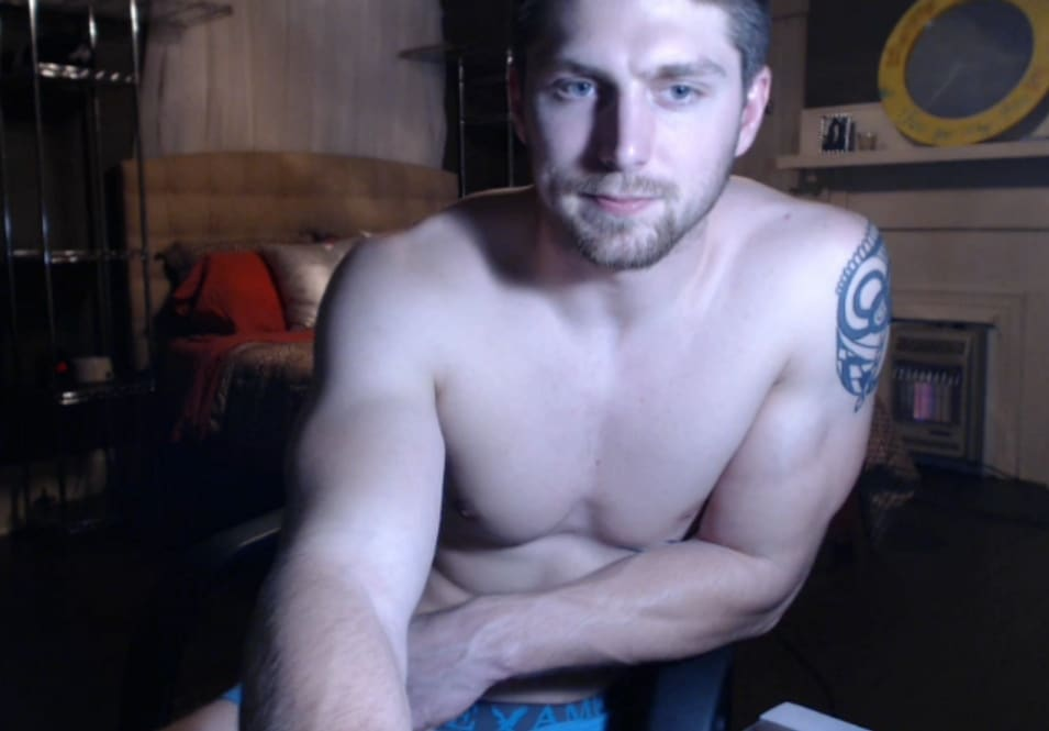 Guys on webcam