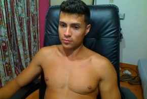 Sexy Latino Cam Boy With A Nice Uncut Cock