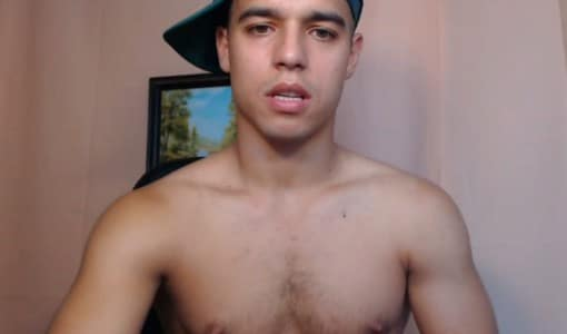 Sexy Latino Boy Getting Naked On Cam