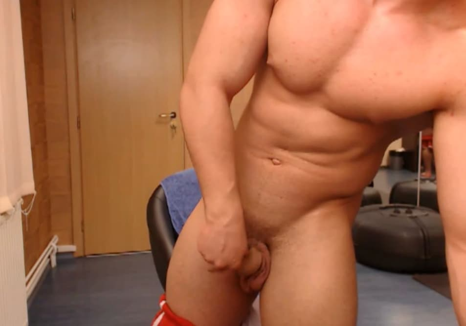 Muscle Boy With Big Cock