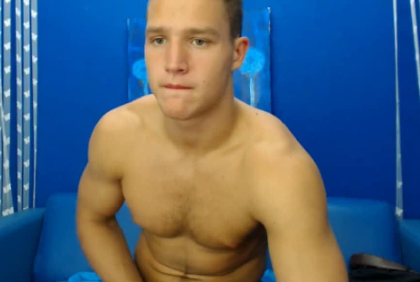 Webcam Boy Jerking Off