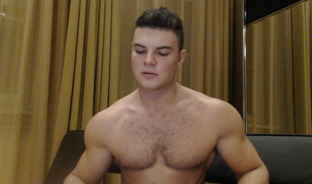 Hairy Gay Cam Stud