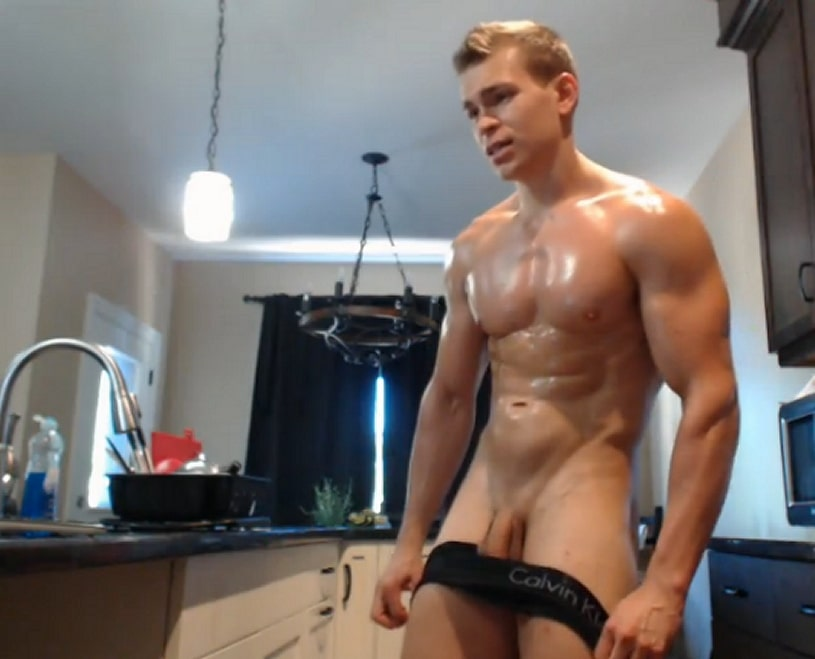 gay muscle cam show